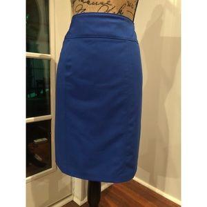 Pencil Skirt (blue) #shesdarlin